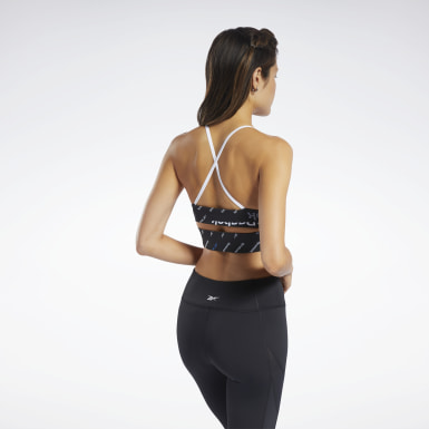 Sostén deportivo Workout Ready Strappy - Impacto bajo Negro Mujer Fitness & Training