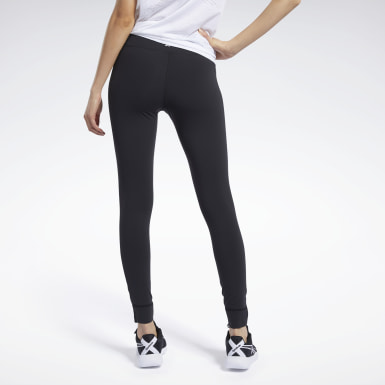 Dam Yoga Svart Reebok Lux Tights 2.0