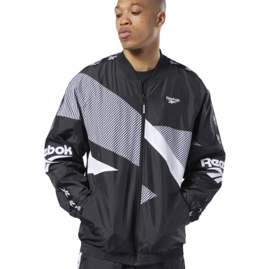 Men Classics Black Classics Vector Jacket