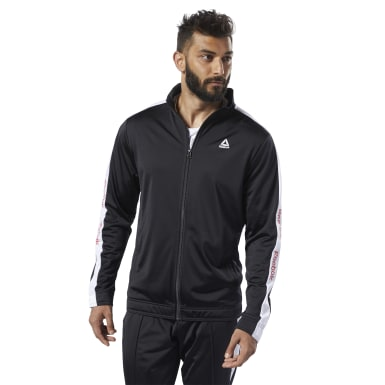 TE BL TRACK JACKET Negro Hombre Fitness & Training