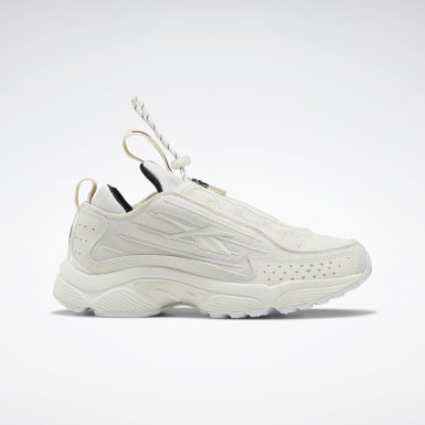 Women Classics White DMX Series 2200 Zip Shoes