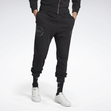 Men UFC Black UFC Fan Gear Joggers