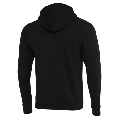 Men Fitness & Training Black Hoddie Fleece Men