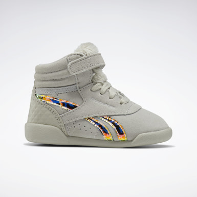 Kinder Classics Freestyle Hi Shoes Grau