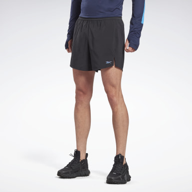 Men Running Black Run ACTIVCHILL 5-Inch Epic Shorts