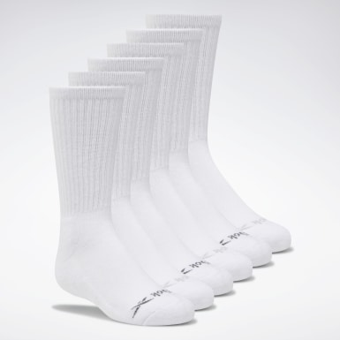 Kids Training Crew Basic Delta Socks Six Pack