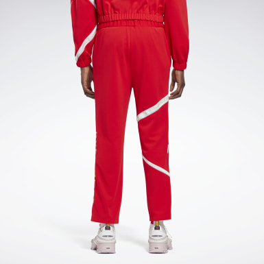 Classics Red Reebok by Pyer Moss Vector Joggers