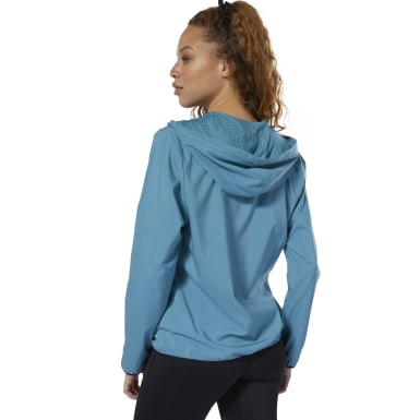 Felpa con cappuccio Full Zip Grigio Donna Fitness & Training