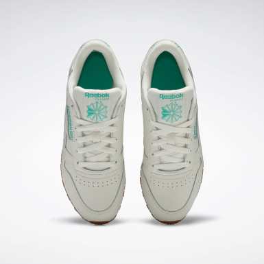 Tenis Classic Leather Blanco Mujer Classics