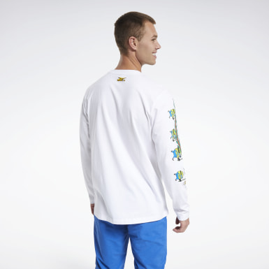 Classics White Minion Chinese New Year Long-Sleeve Top