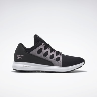 Women Running Black Reebok Driftium Ride 2.0 Shoes