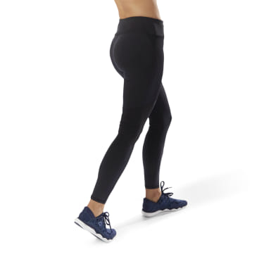 Women Running Black Running Thermowarm Leggings