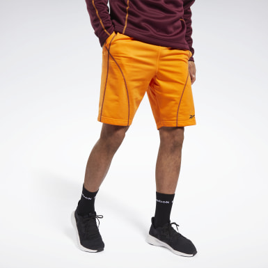 Men Training Orange MYT Shorts