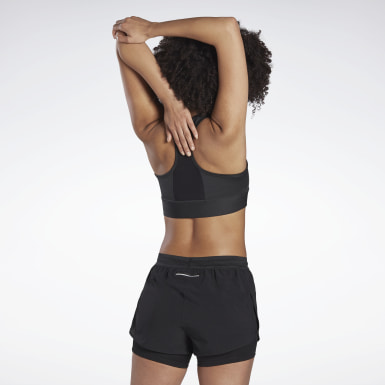 Dam Löpning Svart Running Essentials High-Impact Bra