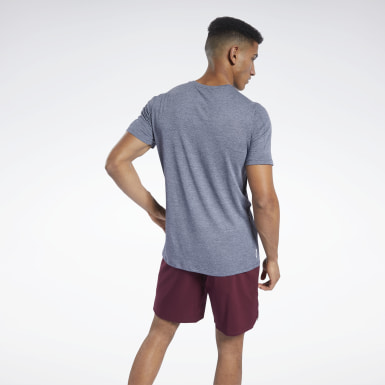 Men Training Blue ACTIVCHILL+COTTON Tee
