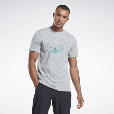 Camiseta Graphic Series Speedwick Cinza Homem Fitness & Training