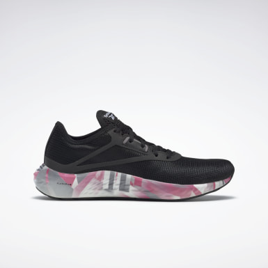 Women Running Black Reebok Flashfilm 3 Shoes