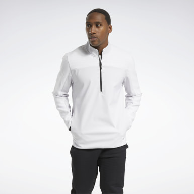белый Свитшот Thermowarm Deltapeak Quarter-Zip