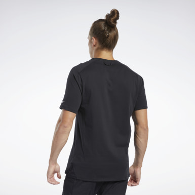 Männer Fitness & Training Training Supply Graphic Pocket T-Shirt Schwarz