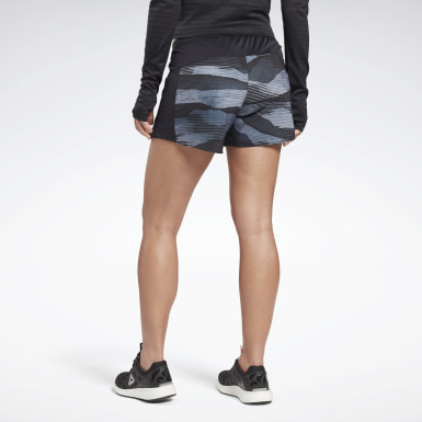 Women Terrengløping Black Run Essentials 5-Inch Shorts