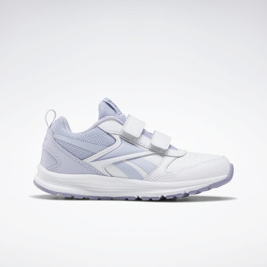Kids Running White Reebok Almotio 5.0 Shoes