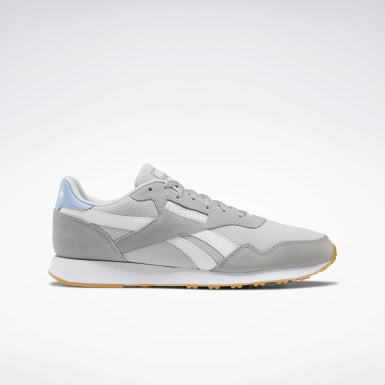 Men Classics Grey Reebok Royal Ultra Shoes
