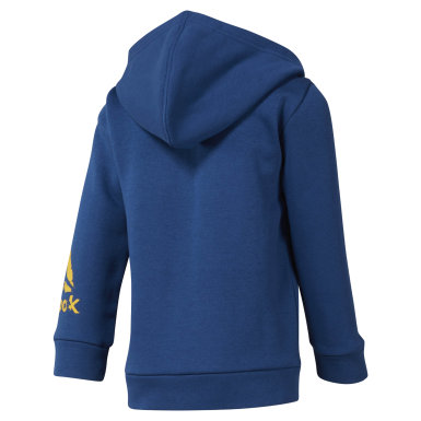 Boys Training Blue Boys Elements Fullzip Fleece Hoody