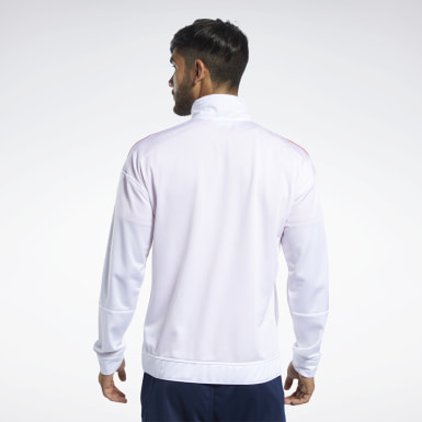 Chaqueta Workout Ready Blanco Hombre Fitness & Training