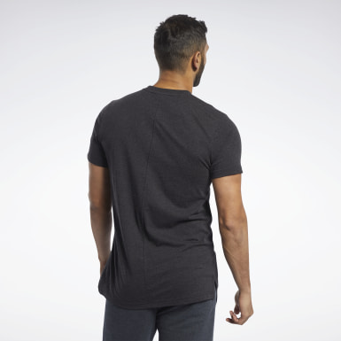 Men Fitness & Training Black Training Essentials Tee