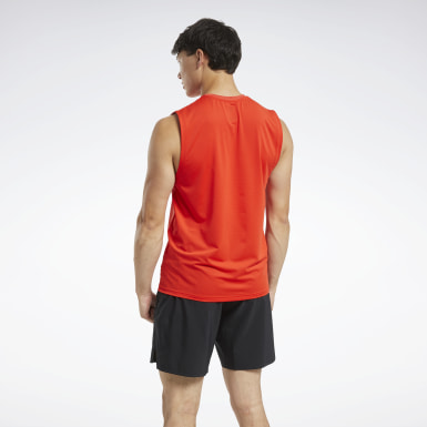 Men Cross Training Red ACTIVCHILL Sleeveless Tee