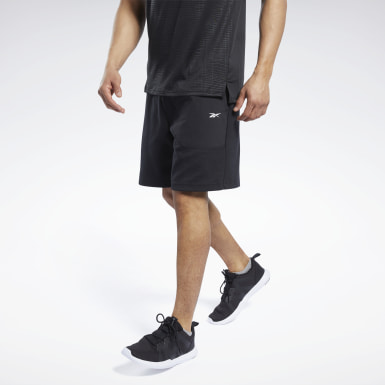 Men Fitness & Training Knit-Woven Shorts