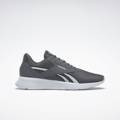 Men Running Grey Reebok Lite 2 Shoes