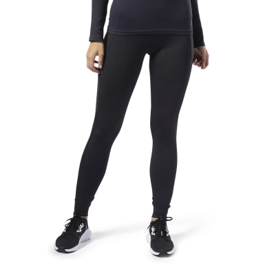 Women Training Black Thermowarm Touch Tights