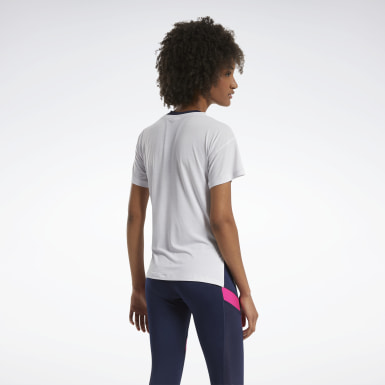 Dames Wielrennen Wit Workout Ready ACTIVCHILL T-shirt