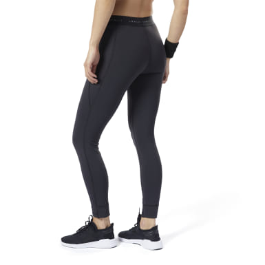 Women Studio Black LES MILLS®  Lux Tights 2.0