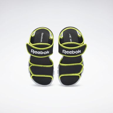 Kids Running Black Wave Glider III Sandals