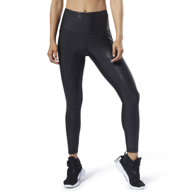 Women Studio Black Studio Lux Metallic Leggings