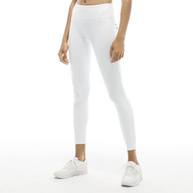 Women Training White VB Classic Tights