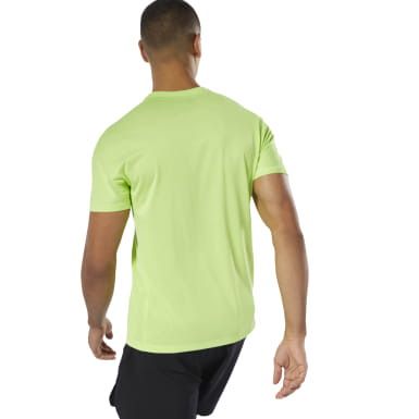 Polo Osr  Reflect Move Tee Verde Hombre Running