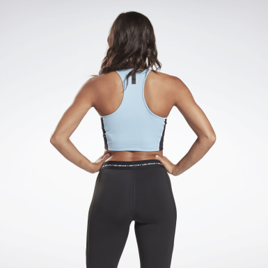 Women Cycling LES MILLS® Low-Impact Cycling Bra