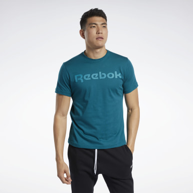 Men Fitness & Training Graphic Series Linear Logo Tee