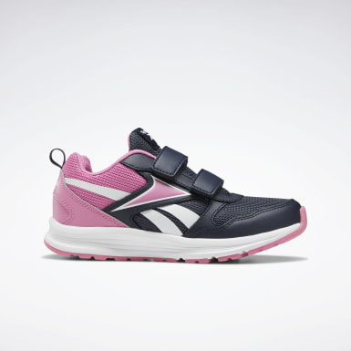 Kids Running Blue Reebok Almotio 5.0 Shoes