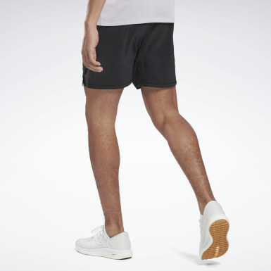 Men Running Black Running Essentials Shorts