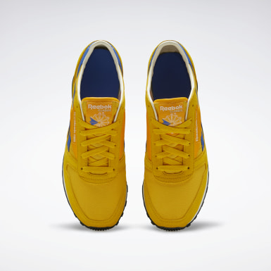Classics Yellow Classic Leather AZ Shoes