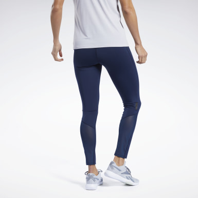 Legging United by Fitness Lux Perform Bleu Femmes Randonnée