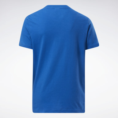 Kids Fitness & Training Blue Tee