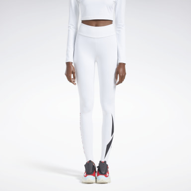 Women Classics White Reebok by Pyer Moss Leggings