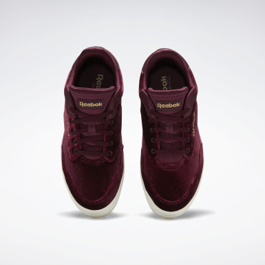 Women Classics Burgundy Reebok Royal Techque Vulcanized Shoes