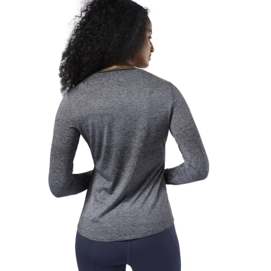 Women Running Grey One Series Running Knit Tee