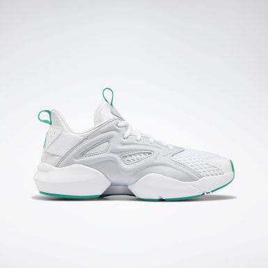 Women Running White Sole Fury Adapt Shoes